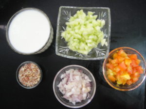 Main ingredients of recipe