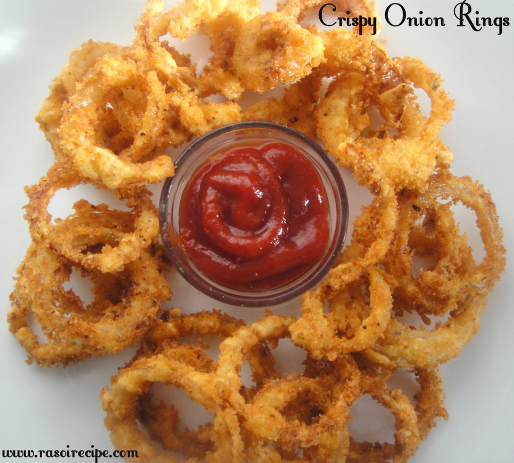 Milk-Powder Red-Onion Rings