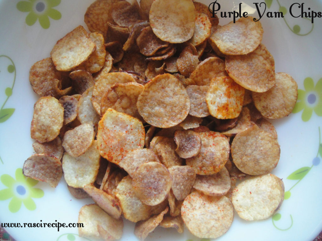 Purple Yam Chips