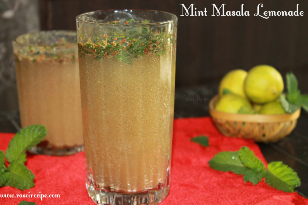 Mint Masala Lemonade